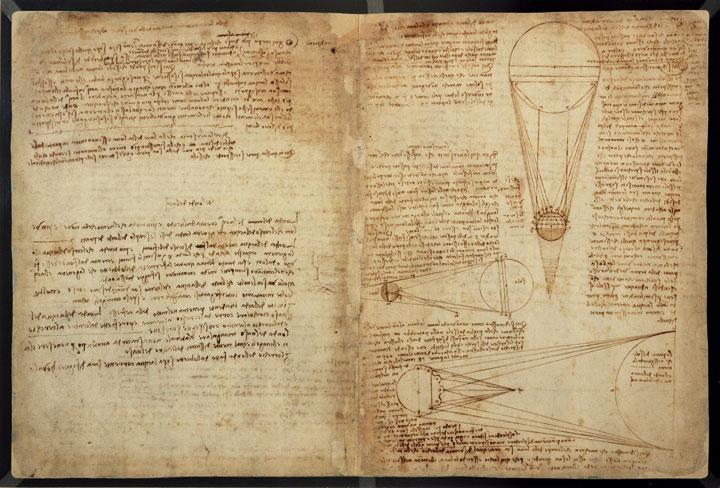 Технические изобретения Леонардо да Винчи.