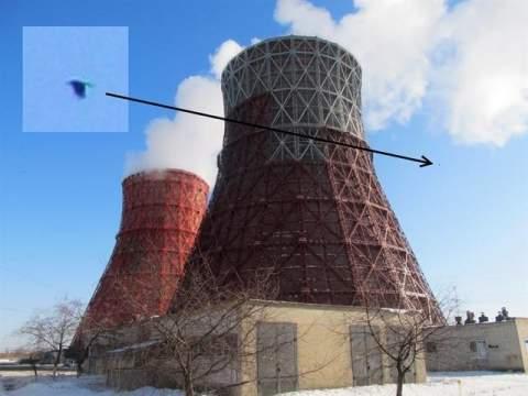 На Пасху в небе над Харьковом было замечено НЛО