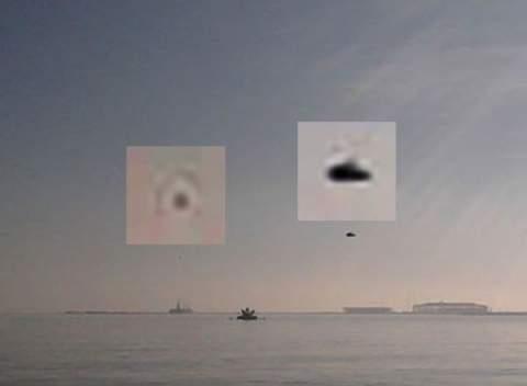 НЛО над Бакинской бухтой