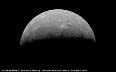 НАСА утверждает, что найденная на Меркурии скала выглядит как Хан Соло замороженный в карбоните
