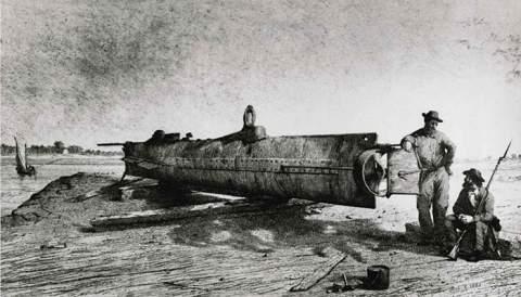 6 лучших подводных лодок XIX века