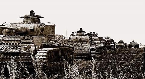 Подвиг танкистов. Один КВ против 22 немецких танков