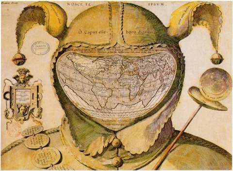 «Карта шутовского колпака» — одна из самых больших загадок картографии