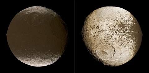 Учёные решили пролить свет на «странный» спутник Сатурна Япет