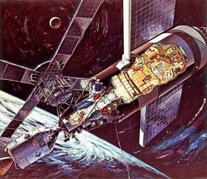 Взлет и падение «Скайлэб» — единственной американской орбитальной станции