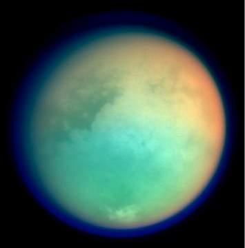 Редкие дожди Титана