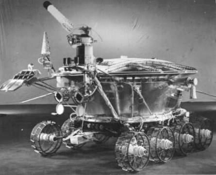"""Первый луноход: советский космический корабль """"Луноход-1"""""""