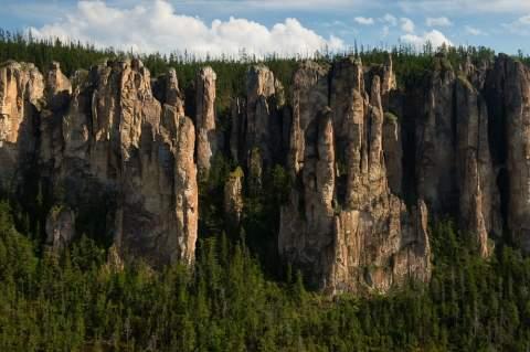 Гигантские птицы в небе Якутии