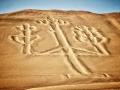 Peru Paracas Candelabra Geoglyph