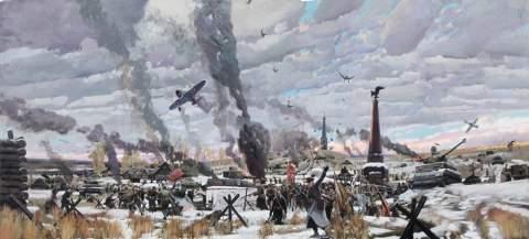 30 сентября 1941 года началась Битва за Москву