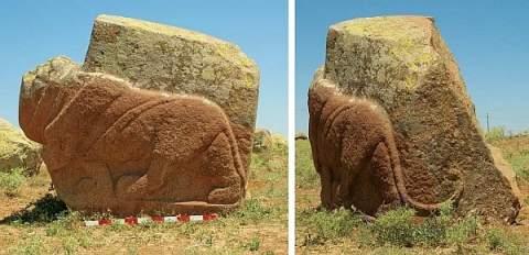 Хеттские каменные львы, возможно, берегли священный источник