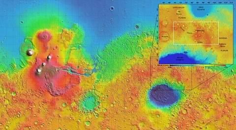 Получены новые доказательства присутствия воды в древних марсианских глубинах