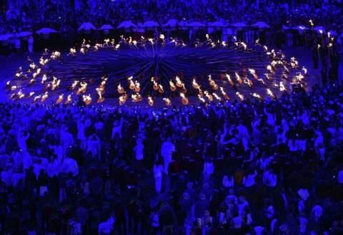 Открытие Олимпиады - Жуткий Символизм открытым текстом