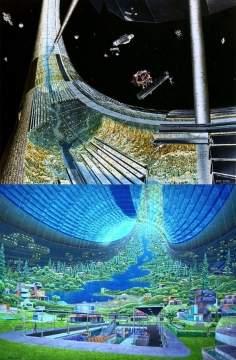 Космические поселения глазами НАСА