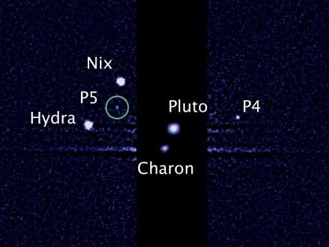 Астрономы нашли пятый спутник Плутона