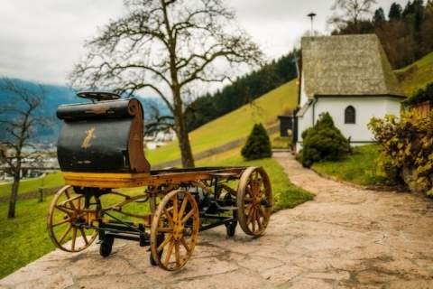 Первый в мире электромобиль Porsche был обнаружен в сарае после ста лет забвения