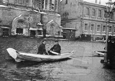 Редкие кадры кинохроники: Наводнение в Ленинграде, 1924 год