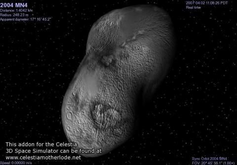 Астероид, угрожающий Земле, собьют ядерным оружием