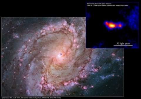 Астрономы обнаружили уникальную черную дыру крошечных размеров, но обладающую невероятной мощью
