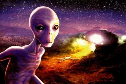 Земные следы пришельцев