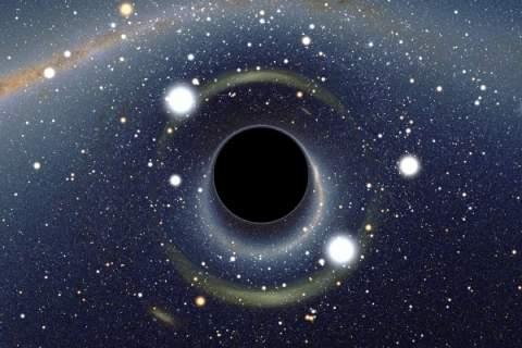 Умирающая звезда кричит, впадая в черную дыру