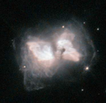 Хаббл поймал в сети межзвёздную бабочку