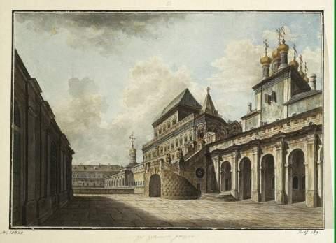 Москва 1800 года на картинах Федора Алексеева