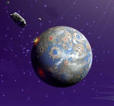 В какой цвет выкрашены землеподобные планеты других звёздных систем?