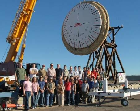НАСА испытает новую систему посадки на Марс, похожую на летающую тарелку