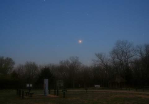 14 апреля произойдет пик сближения Марса с Землей
