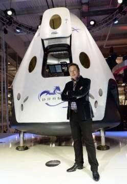 SpaceX представила капсулу Dragon V2 для перевозки астронавтов в космосе