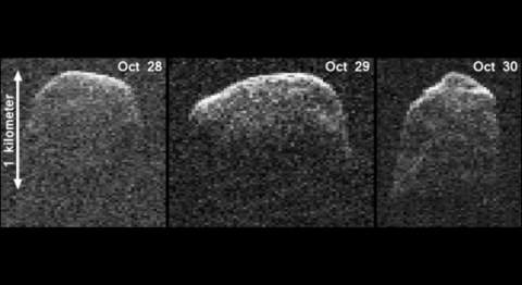 Потенциально опасный астероид 2007 PA8