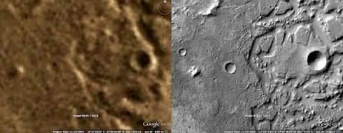Гуглокарты Марса стали подробнее