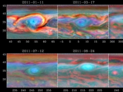 Ураганы на Сатурне