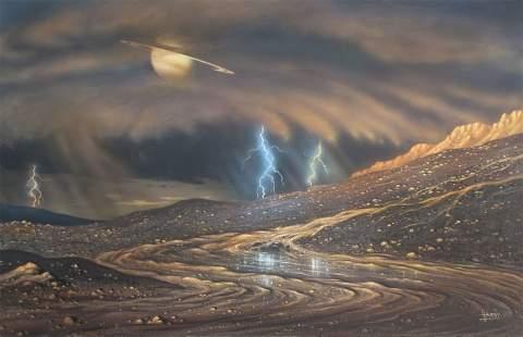 Планетологи заметили, что поверхность Титана со временем меняется