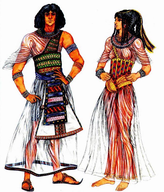 Древнеегипетская мода презентация