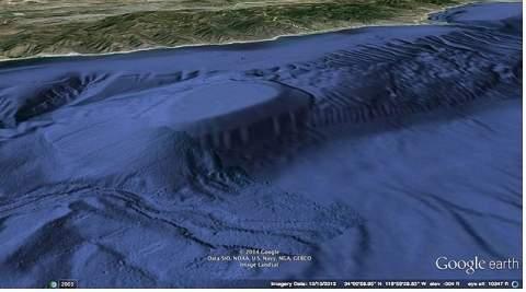 У берегов Калифорнии нашли подводную базу НЛО