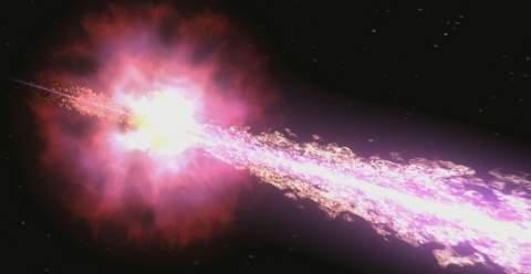 Космические гамма-всплески могут быть причиной массовых вымираний на Земле