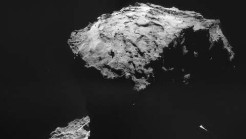 Ученые выяснили, какого цвета комета 67P