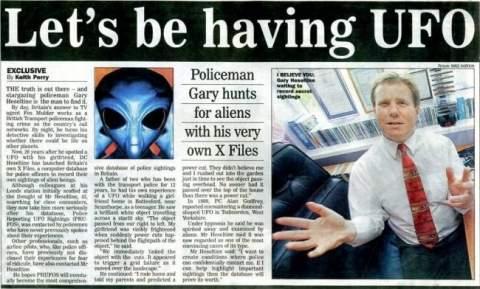 Пришельцы против британской полиции