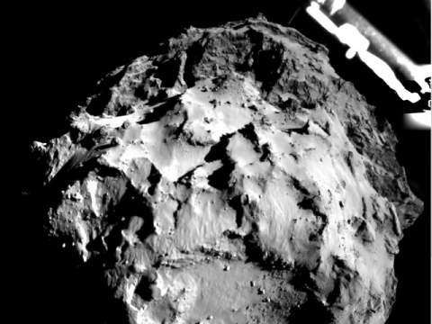 Опубликованы первые результаты исследования кометы Чурюмова-Герасименко