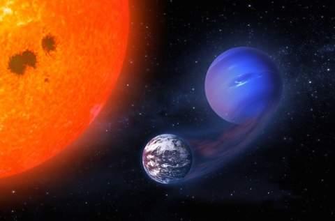 Обитаемые планеты могли начать свою историю как газовые гиганты
