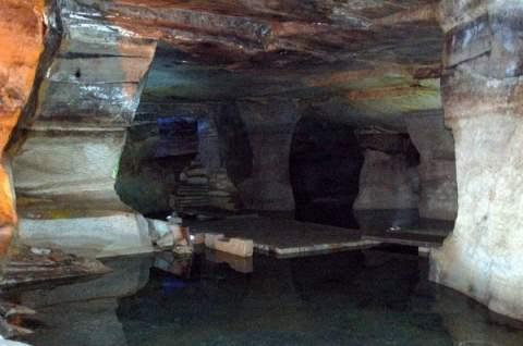 Таинственные места—«Лабиринт каменных пещер—Цветочная гора»