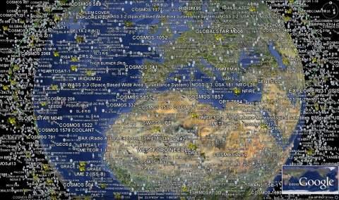 Космический мусор стал глобальной проблемой
