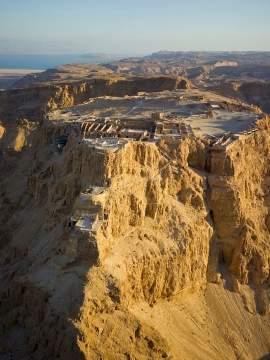 Масада - как пала неприступная крепость царя Ирода